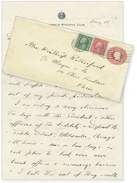 FDR letters to Lucy Mercer Rutherford