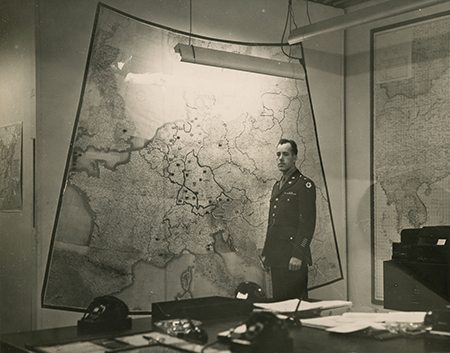 FDR's White House Map Room