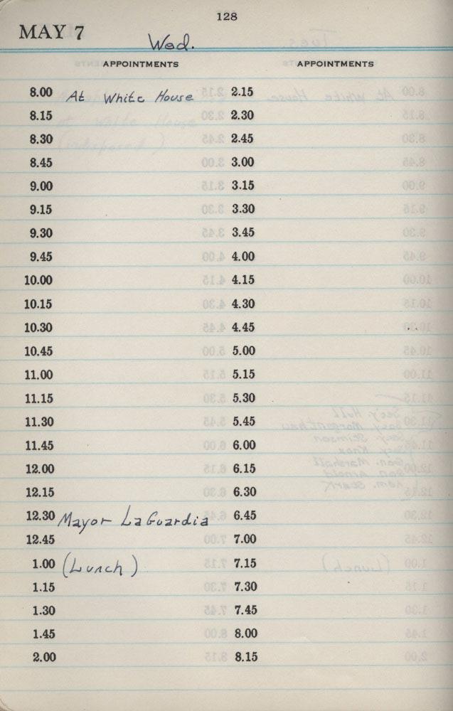 May 7 1941 - Stenographers Diary
