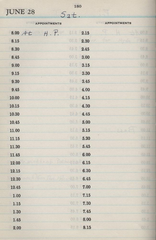 June 28 1941 - Stenographers Diary