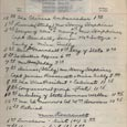 December 7 1941 - Ushers Log